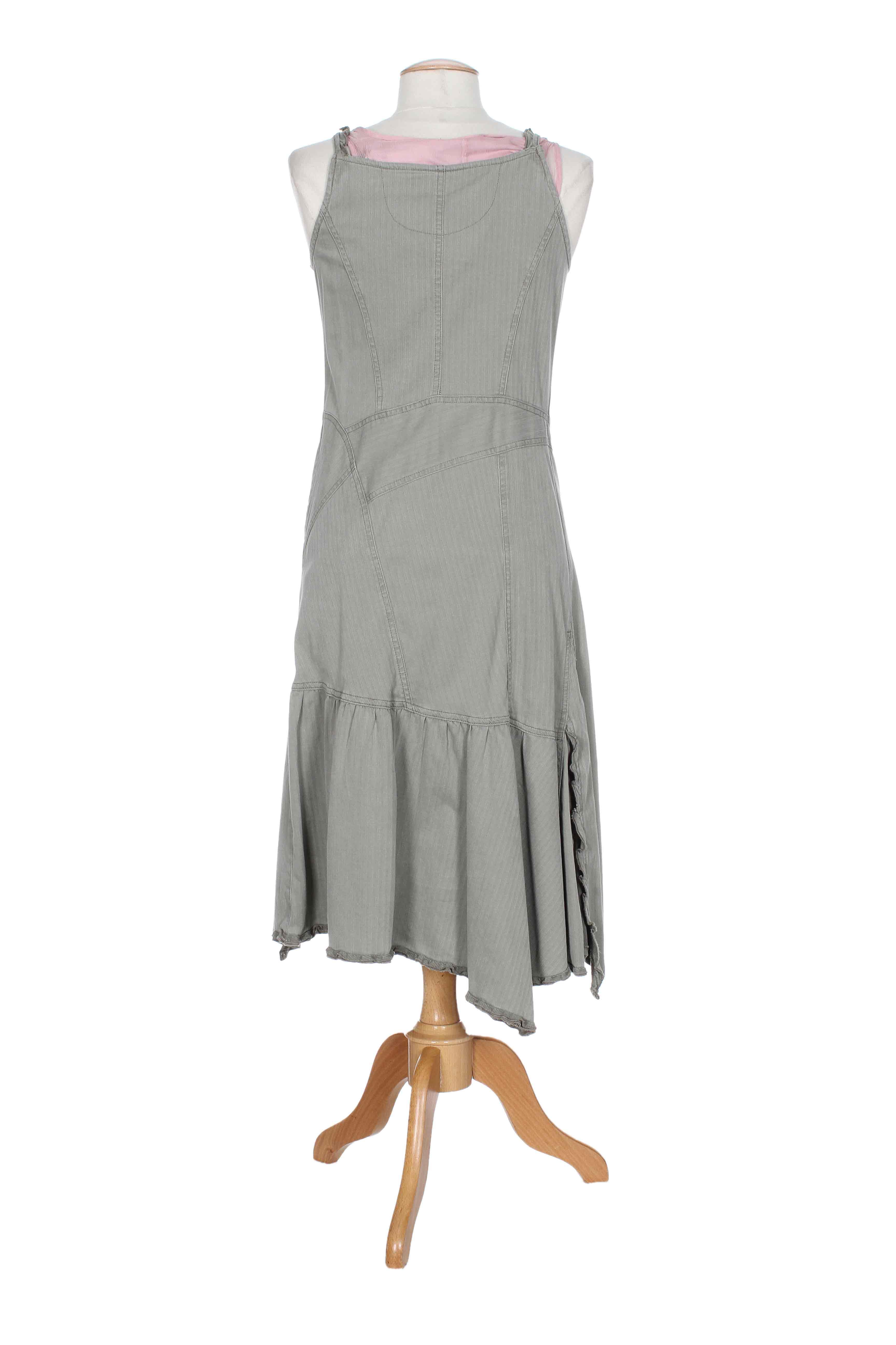lauren vidal robes longues femme de couleur gris en soldes. Black Bedroom Furniture Sets. Home Design Ideas