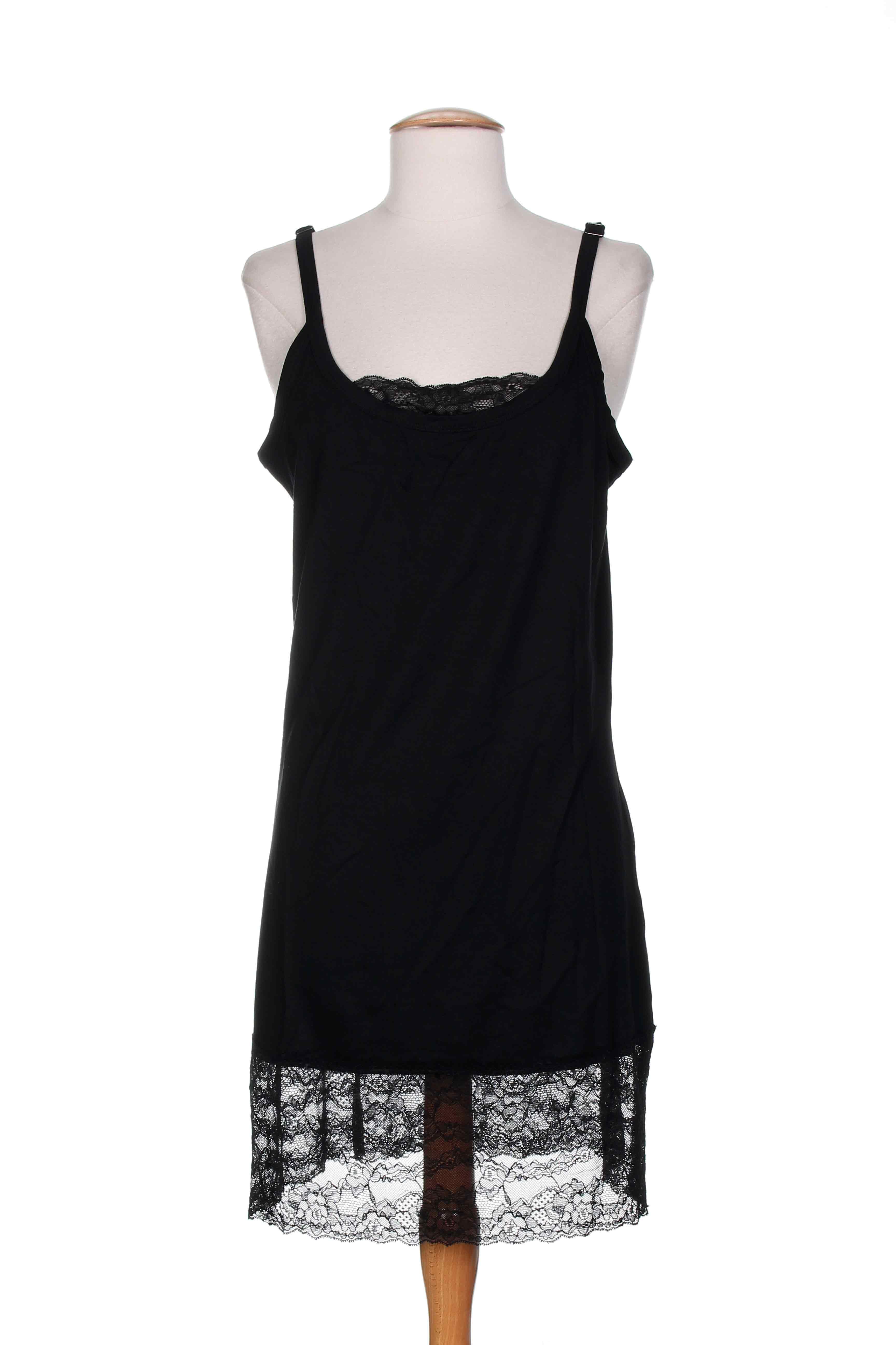 lauren vidal jupons fonds de robe femme de couleur noir en. Black Bedroom Furniture Sets. Home Design Ideas